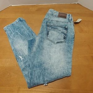Maurice's denim flex crop ankle jeans 9/10